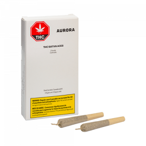 THC Sativa Aces Pre Roll Joint