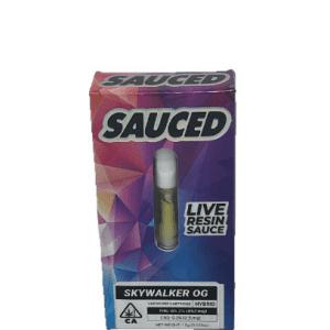 White Widow SAUCED Live RESIN Cartridge UK