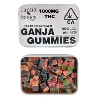 Ganja gummies 1000mg UK
