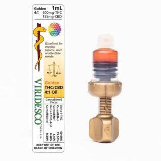Viridesco Ratio Blends Golden 4:1 – THC:CBD